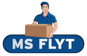 Logo for Flyttefirmaet MS Flyt
